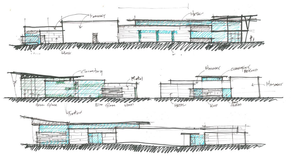 Round Rock ER _ Design Sketches
